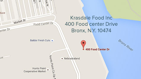 Krasdale Food Inc. 400 Food Center Drive. Bronx, N.Y. 10474